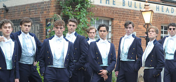 Sam Clafin Max Irons Douglas Booth The Riot Club