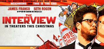 The Interview Movie Banner