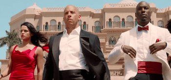 Vin Diesel Michelle Rodriguez Tyrese Gibson Furious 7