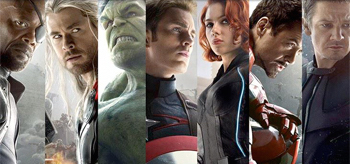 Avengers Age of Ultron Movie Posters