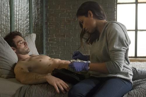 Charlie Cox Rosario Dawson Daredevil
