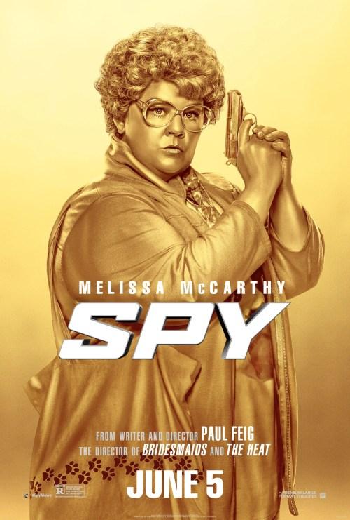 Gold Melissa McCarthy Spy movie poster