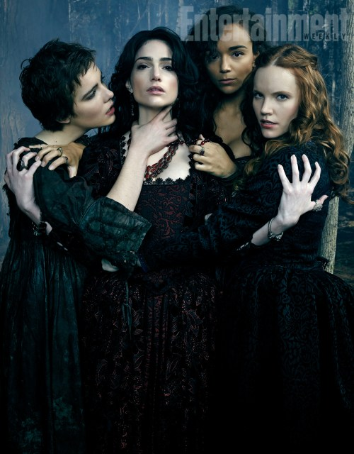 Janet Montgomery Anne Hale Elise Eberle Ashley Madekwe Salem Season 2 Entertainment Weekly