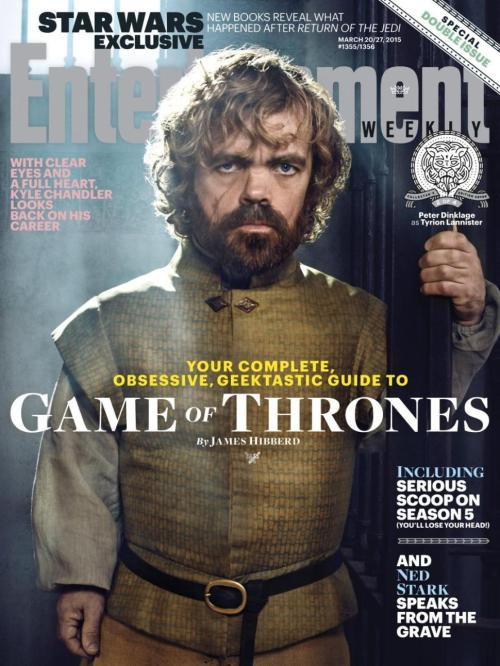 Peter Dinklage Game of Thrones Season 5 Entertainment Weekly Cover
