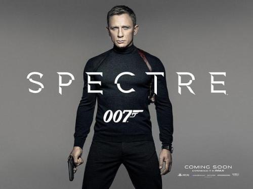 Spectre teaser movie poster