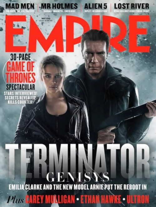 Terminator Genisys Empire Magazine May 2015 Cover