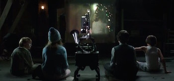 Children Watching Movie Sinister 2