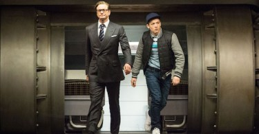 Colin Firth Taron Egerton Kingsman The Secret Service