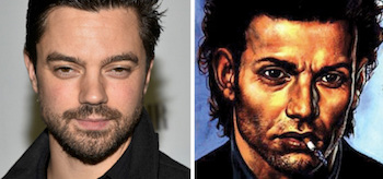 Dominic Cooper Preacher Head Shots