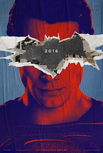 Henry Cavill Batman v Superman Dawn of Justice Poster