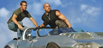 Paul Walker Vin Diesel Furious 7