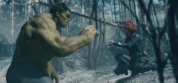 Scarlett Johansson Hulk Avengers Age of Ultron