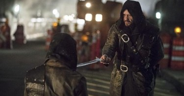 Matt Nable Stephen Amell Arrow My Name is Oliver Queen