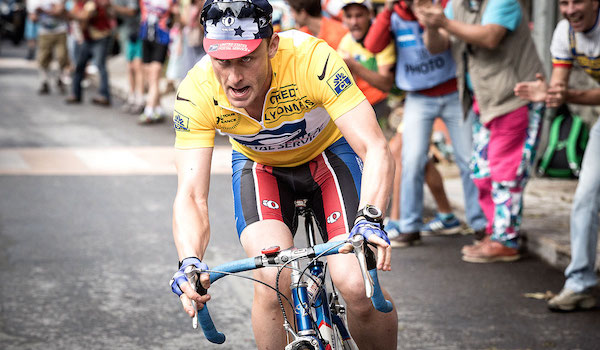 Ben Foster is Lance Armstrong