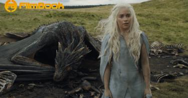 Emilia Clarke Drogon Game of Thrones Mothers Mercy