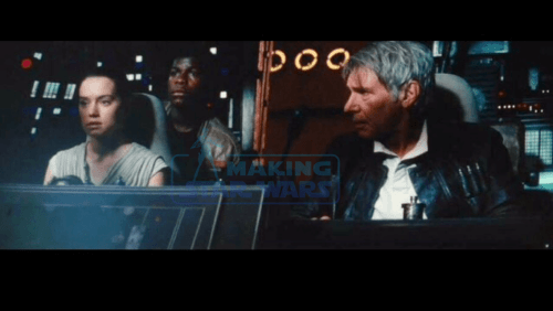 Harrison Ford Daisy Ridley John Boyega Star Wars The Force Awakens