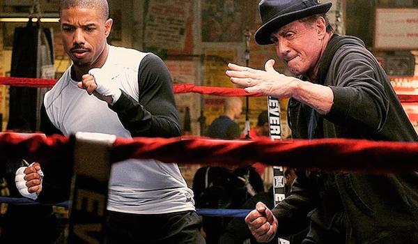 Michael B Jordan Sylvester Stallone Creed