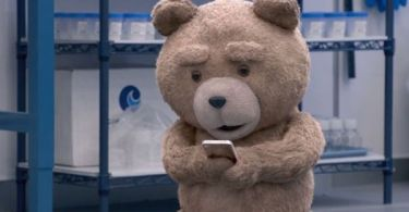 Ted on Cell Phone Ted 2