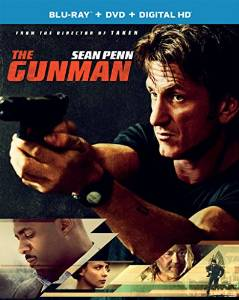 The Gunman Bluray Cover