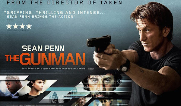 The Gunman Movie Banner