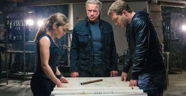 Arnold Schwarzenegger Jai Courtney Emilia Clarke Terminator Genisys
