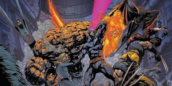 Fantistic Four X-Men