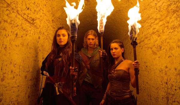 Ivana Baquero Poppy Drayton Austin Butler The Shannara Chronicles