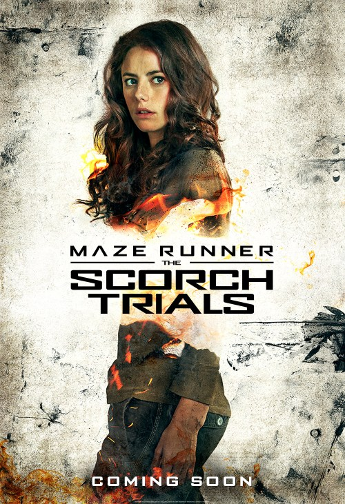 Kaya Scodelario Maze Runner The Scorch Trials poster