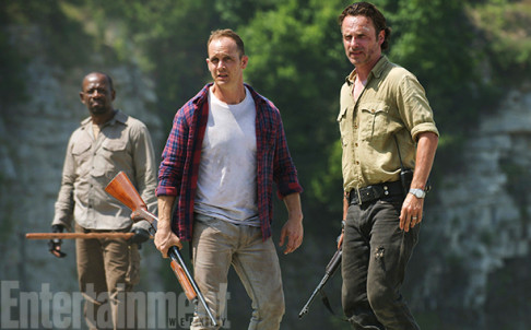 The Walking Dead Season 6 Lennie James Ethan Embry Andrew Lincoln