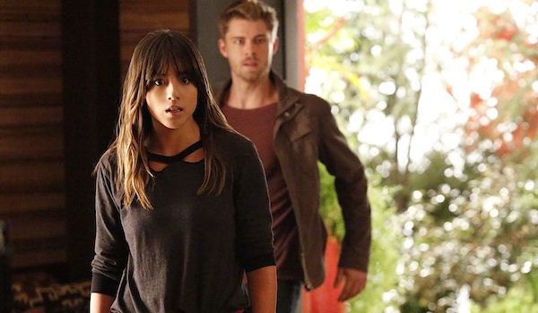 Chloe Bennett Luke Mitchell Agents of SHIELD Afterlife