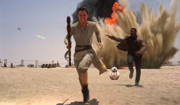Daisy Ridley John Boyega Star Wars The Force Awakens