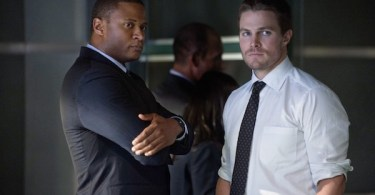 David Ramsey Stephen Amell Arrow Season Two