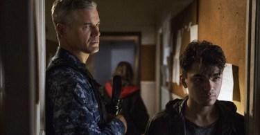 Eric Dane Adam Irigoyen Uneasy Lies the Head The Last Ship