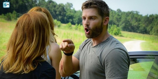 Marg Helgenberger Mike Vogel Rachelle LeFevre Under the Dome Incandescence