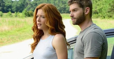 Rachelle LeFevre Mike Vogel Under the Dome Incandescence