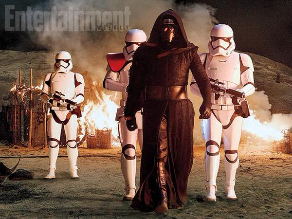 Star Wars The Force Awakens Villain & Stormtroopers