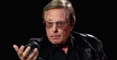 William Friedkin holding Hand Out