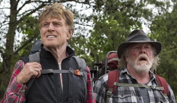 Robert Redford Nick Nolte A Walk in the Woods