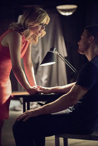 Emily Bett Richards Arrow Green Arrow