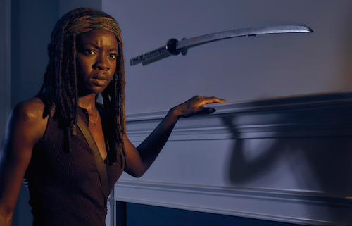 Danai Gurira Michonne The Walking Dead Season 6