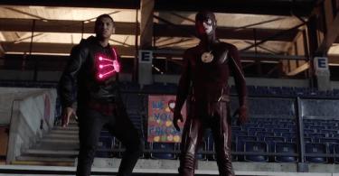 Franz Drameh Grant Gustin The Flash