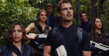 Shailene Woodley Theo James Zoë Kravitz, Miles Teller Ansel Elgort Maggie Q The Divergent Series Allegiant