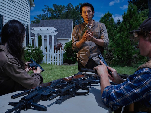 Steven Yeun Glenn The Walking Dead Season 6