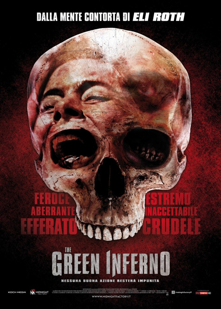 The Green Inferno Italian Poster