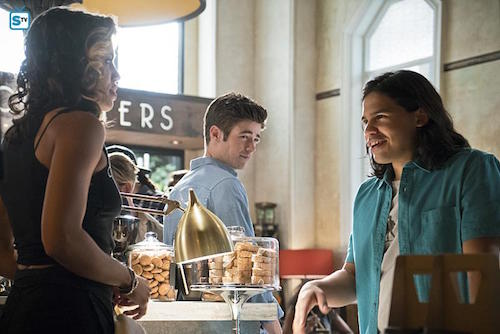 Ciara Renee Grant Gustin Carlos Valdes The Flash The Darkness and the Light