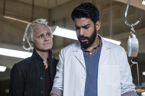 David Anders Rahul Kohli iZombie Love and Basketball