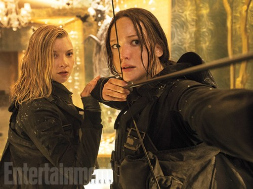 Jennifer Lawrence Natalie Dormer The Hunger Games Mockingjay Part 2