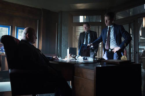 Michael Chiklis Donal Logue Ben McKenzie Tonight's The Night Gotham