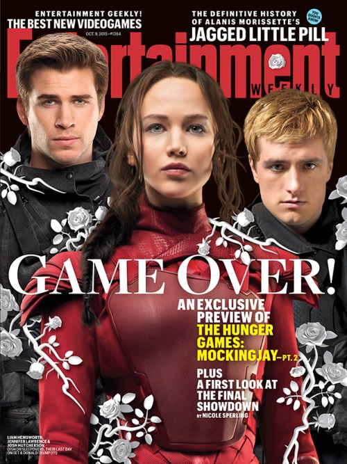 The Hunger Games Mockingjay Part 2 Entertainment Weekly Cover October 9, 2015