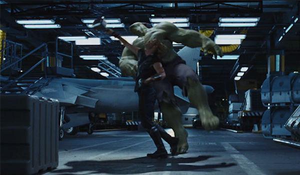 Thor Hulk The Avengers